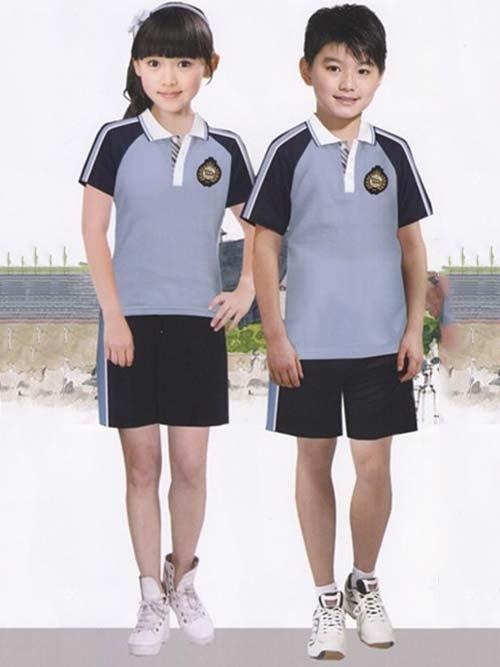 景洪学校夏装校服
