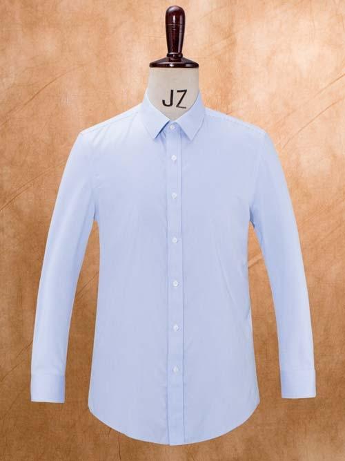 MTG-133蓝条男长袖衬衫