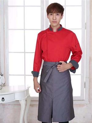 红色简约酒店服