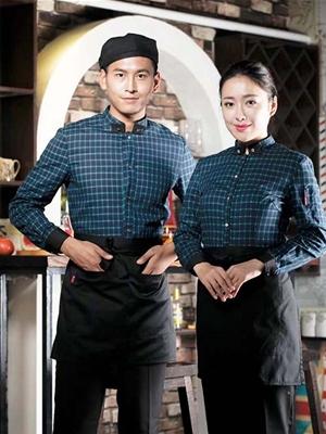 蓝色格子酒店服