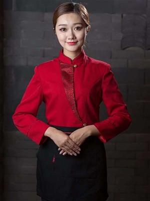 中式红色酒店服