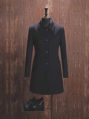 YW-03W女大衣黑色