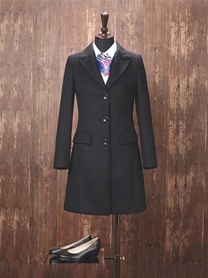 YW-06W女大衣黑色