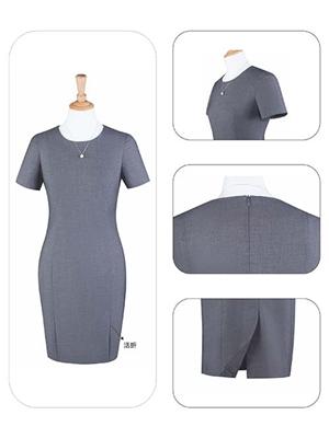 HYL03连衣裙灰色