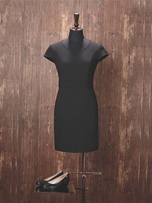 HY1005-911连衣裙黑色