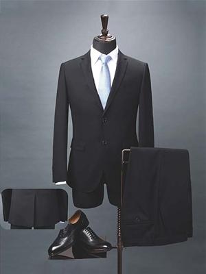 HY7005男西服黑色