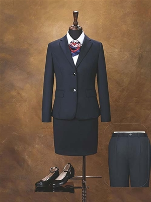 HY7001-2女西服藏青色