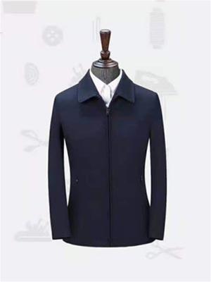 HJ2079藏青色 平纹 女士夹克 大衣 聚酯纤维外套万博体育app手机登录