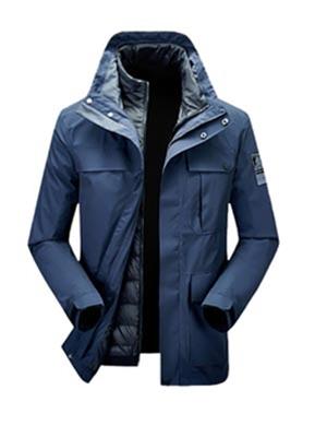 男士秋冬季外套新款羽绒服加绒加厚冬装衣服